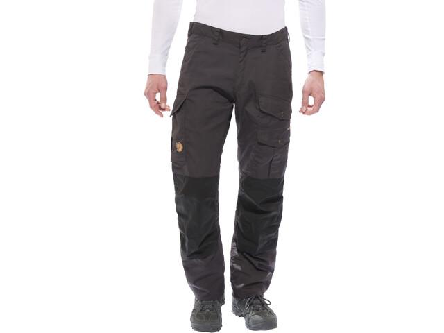 Fjällräven Barents Pro Pantalones Hombre, dark grey/black